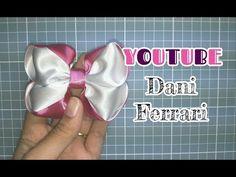 Ribbon Hair Bows, Diy Hair Bows, Diy And Crafts, Crafts For Kids, How To Make Ribbon, Making Hair Bows, Girls Bows, Diy Accessories, Diy Hairstyles