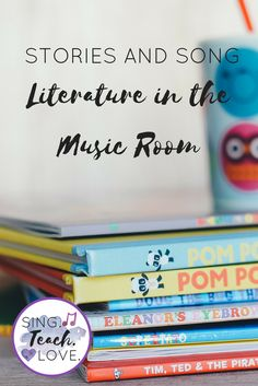 Some fun and musical activities to use for teaching literature lessons in the music room!