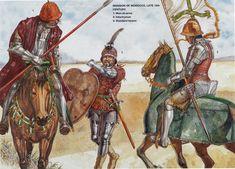 Portuguese Soldiers, Morrocco, 15th Century