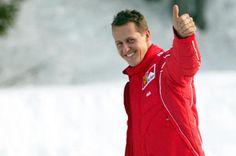 Michael Schumacher 2014-01-06-schumacherskiingthumbsup