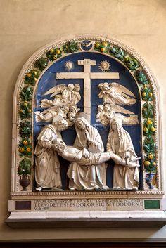 Florence San Marco Della Robbia