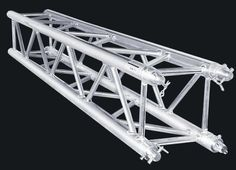 Spigot Square Truss  Size: Width 290*290 / 390*390mm , Lenght 0.5~4m . Main tube used 50*2mm , Brace tube used 20*2mm , 6061 T6 high quality Aluminum .