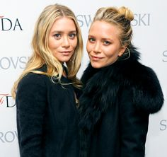 Mary-Kate and Ashley Olsen Nothing says '90s like the Olsen twins! Mary-Kate and Ashley Olsen rose to fame as the thumbs-up giving beloved M...