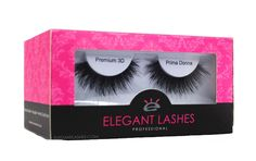 Pro Dozen Pack by Elegant Lashes. 12 pairs of lashes in one smart packaging.