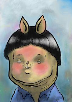 """Digital Paintings - Erik """"Hungry Games"""" Cyree"""