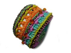 ••• Armband crochet-bracelet Häkelarmband ••• von crochet.jewels auf DaWanda.com