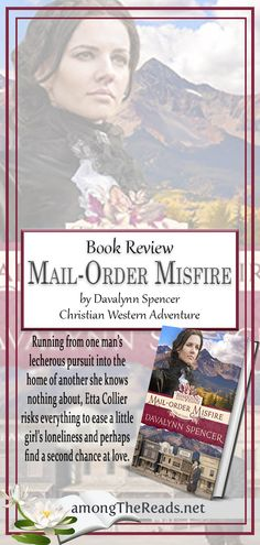 Mail order bride - with a twist    Mail Order Misfire by Davalynn Spencer     #bookmemes #bookquotes #quote #bookreview #amreading #bookish #booklover #books #bookblogger #goodreads #booklove #bookaddict #reader #ilovereading #totalbooknerd #bookgeek #becauseofreading #bookoftheday #bookaddiction #bookblog #lovereading via @amongTheReads