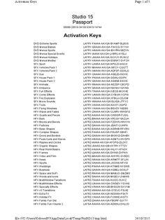 pinnacle studio 18 activation key