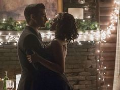 "The Vampire Diaries -- ""Somebody That I Used To Know"" -- Image Number: -- Pictured (L-R): Michael Malarkey as Enzo and Kat Graham as Bonnie -- Photo: Annette Brown/The CW -- © 2016 The CW Network, LLC. All rights reserved. Enzo Vampire Diaries, Vampire Diaries Spoilers, Vampire Diaries Season 7, Vampire Diaries The Originals, Stefan Salvatore, Paul Wesley, Michael Malarkey, Bonnie Bennett, Elena Gilbert"