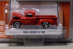 1:64 Greenlight Muscle Series 3* 1965 Dodge D-100 * Extra Wheels * NIB * #Greenlight #Dodge