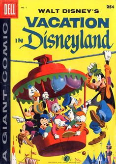 I Can Break Away: The Business of Western Publishing's Disneyland Comic Books—Part II: Post-Disneyland, Inc. & Walt Disney World Disneyland Today, Disneyland Birthday, Disneyland Vacation, Vintage Disneyland, Retro Disney, Disney Duck, Disney Love, Disney Stuff, Punk Disney