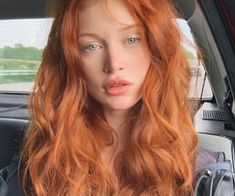 Glossy Rose - 20 Brilliant Rose Gold Hair Color Ideas for 2019 - The Trending Hairstyle Ginger Hair Color, Red Hair Color, Curly Ginger Hair, Beautiful Red Hair, Copper Hair, Aesthetic Hair, New Hair, Hair Looks, Redheads