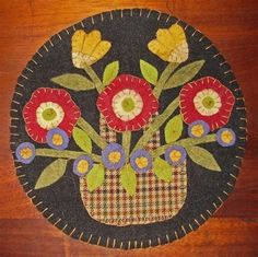 Image result for Free Printable Penny Rug Patterns Primative