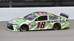 Kyle Busch will start Sunday's NASCAR Sprint Cup Series Pure Michigan 400 from the back of the field after a crash in practice on Saturday morning forced the driver of the No. 18 Toyota to a ...