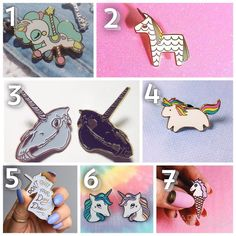 PICK A NUMBER AND VOTE FOR THE COOLEST UNICORN PIN EVER!  all makers are tagged.  Share with a friend who will want one  #unicorn#unicorns#unicorne#unicorni#unicorno#unicornio#unicornlife#unicornlove#unicornlovers#dream#dreams#dreamy#dreamunicorn#unicorndreams#photo#love#pinkart#pinklove#pinkdream#pinklover#art#arte#arts#pinklover#pin#pins#coolpin#art#stuff#coolstuff by weareallunicorns