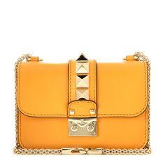 Valentino - Lock Mini leather shoulder bag - mytheresa.com