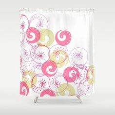 Society6 - Swirly Shower Curtain by Nandita Singh Society6 http://www.amazon.com/dp/B00LFH4VJ8/ref=cm_sw_r_pi_dp_2T6Ztb0MGQ5SN493
