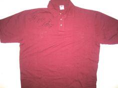 Darrel Young Washington Redskins Travel Worn & Signed XXL Polo Shirt