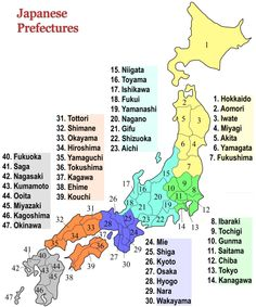 Japanese Prefectures