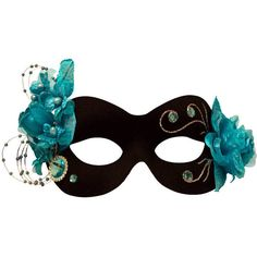 Kalina Black-Turquoise Masquerade Mask for Women A-2697BT ($25) ❤ liked on Polyvore featuring jewelry, turquoise jewelry, turquoise jewellery, blue turquoise jewelry, masquerade jewelry and green turquoise jewelry