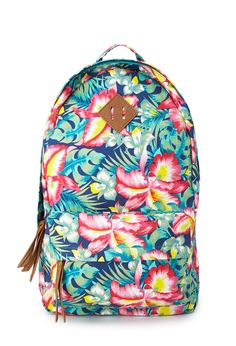 Island Girl Canvas Backpack | FOREVER21 - 1000089543