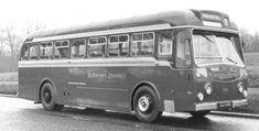 KOT 600, a Dennis Lancet UF (1953) New Bus, Bus Coach, Busses, Commercial Vehicle, Coaches, Planes, Trains, Transportation, Black And White