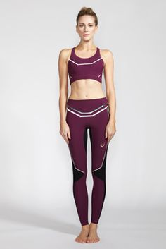 Collection 4 DEJAH SPORTS BRA | AELITA LEGGINGS Great sense of geometric and directional line. In my work i want to be focused on LINE and how it can be used for shape and silhouette.