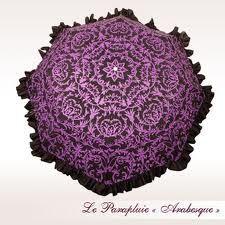 Parapluie Lisbeth DAHL beautiful purple umbrella