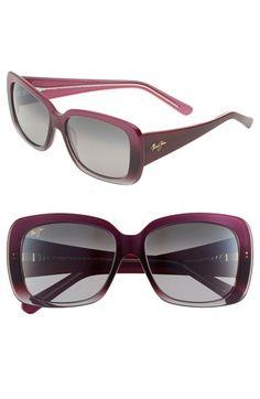 Maui Jim 'Lani' 56mm Oversized Sunglasses available at #Nordstrom