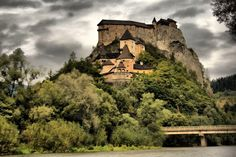 Beutiful medieval castle in Orava,  SK