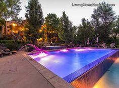 Retreat Inspired Backyard #luxury #homes #house #home #pool #yard #design #patio