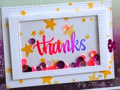 Awesome shaker by Virginia using the January 2015 card kit by Simon Says Stamp