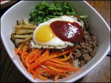 HyeDupBap – Korean Chirashi »                            Bibimbap – Mixed Rice Bowl