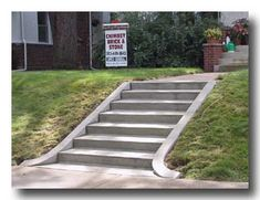 Look at this vital graphic and look into the provided tips on Landscape Steps Cement Steps, Concrete Driveways, Walkways, Front Walkway, Front Steps, Landscape Steps, Landscape Design, Lawn Sprinklers, Free Plants