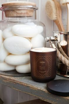 Jabones naturales hechos a mano en Suecia y nuevas velas aromáticas - entre las novedades de la linea SPA de #Affari #estilonordico #spatime