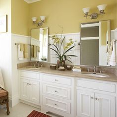 master bath idea...southernliving.com