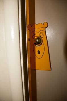 Alice in Wonderland Tea Party Bridal Shower.  The Doorknob.