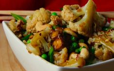 Sticky Cashew Cauliflower [Vegan] | One Green Planet