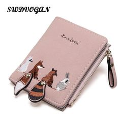 Beige. Womens Small Faux Leather Wallet Soft Coin Purse Small Credit Card Holder Travel Pass Holder