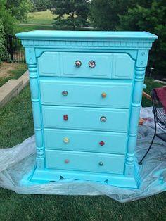 bedroom furniture makeover!
