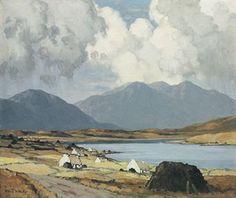 minimal landscape painting - Google Search