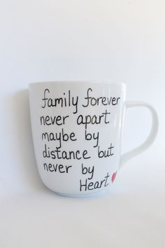 Quote Mug State or Country Heart Mug - Going Away Present, Going Away Gift, Moving Away, Long Distance Relationship, Customize