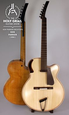 Exhibitor at The Holy Grail Guitar Show 2014: Ken Parker, Ken Parker Archtops, USA http://kenparkerarchtops.com https://www.facebook.com/profile.php?id=100006140476306&fref=ts http://holygrailguitarshow.com