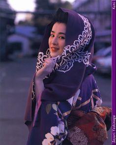 吉永小百合 Japanese Outfits, Japanese Fashion, Japanese Beauty, Asian Beauty, Japanese Style, Japanese Characters, Vintage Bridal, Yukata, Japanese Kimono