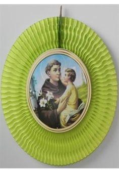 Santo Antonio Decorativo de Seda (62 cm)