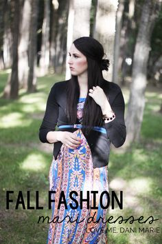 Transition summer maxi dresses to fall with a Cardigan and cute belt!