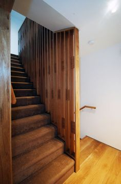 passive house apartment building in Clonmel, Co TIpperary. Passive House, Residential Architecture, Second Floor, Stairs, Flooring, Building, Home Decor, Stairway, Decoration Home