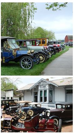 Don't miss the Antique Car Gathering at Sauder Village this Saturday, May 18th! See cars from the early 1900's.