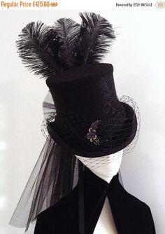 Steampunk Uniformhose schwarz