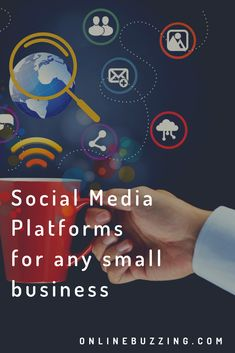 Must have social media platforms for any small business Platforms, Creativity, Social Media, Digital, Business, Store, Social Networks
